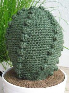 siden af hæklet kaktus