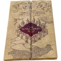 Marauders map noble collection