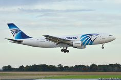 Airbus A300B4-203F freighter Egyptair Cargo (MSR) SU-GAC - MSN 255 - photo: Laurent ERRERA | Flickr - Photo Sharing!