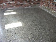 polished concrete with exposed aggregate Concrete Pathway, Concrete Driveways, Concrete Floors, Exposed Aggregate, Concrete Finishes, Polished Concrete, Cottage Interiors, Pathways, House Colors