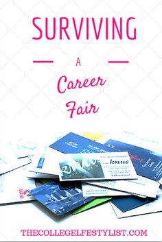 Career Fair Experiences — The College LifeStylist