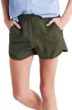 Main Image - Madewell Pull-On Shorts