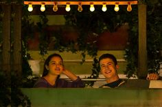 . (L-R) Odeya Rush as Hannah Stine and Dylan Minnette as Zach Cooper in \'Goosebumps.\' (Hopper Stone/Columbia Pictures)
