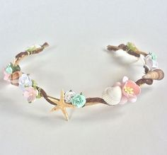 seashell headband - Google Search