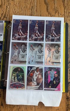 2019-20 Panini Chronicles Ja Morant 8 card lot. Nba Sports, Cupid, Trading Cards, Badge, Fun, Badges, Lol, Funny