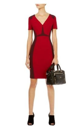 Karen Millen Graphic Color Block Dress...  Love....