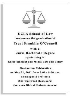 Law School Graduation Announcements at grad-announcements.com