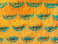 Easy Two Color Knitting Pattern No.52 Hindi - YouTube