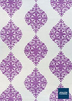 Crawford Wool Area Rug in Ornament Magenta Color | 3x5 Starting at $99 | Available at Avalon Flooring | Sizes up to 8x11 Available | #arearugs #modern #ornamental #geometricpatterns #floralpatterns #rugs
