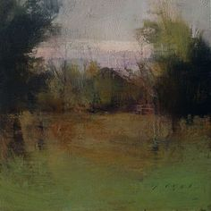 "Autumn Morning, 6"" x 6""/ Douglas Fryer 2010"