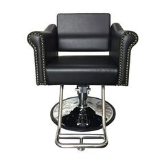 Milan Styling Chair - The Milan Styling chair is one of our most elegant, comfortable options. With molded foam seats reinforced with steel. Nail Salon Furniture, Spa Chair, Pedicure Spa, Barber Chair, Foot Rest, Milan, Salons, Manicure, Steel