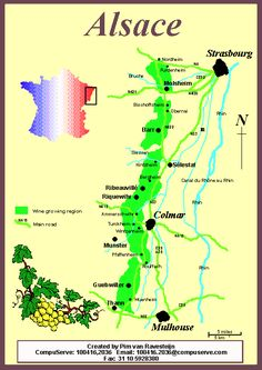 Alsace France | Alsace France wine French map