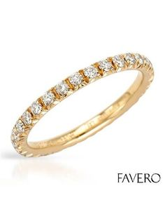 Product Name FAVERO Made In Italy Diamonds Ring Designed In 18K Rose Gold at Modnique.com