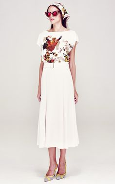 A La Russe Spring/Summer 2014 Trunkshow Look 4 on Moda Operandi