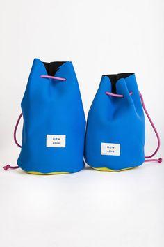 Neoprene drawstring bag
