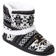 Purdue Boilermakers Women's SnowFlake Boots – Gray