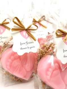 Baby Shower Favors, Rustic Baby Heart Foot Print Soaps, Set of 12 - Baby . - baby shower - Baby Tips Baby Shower Favours For Guests, Baby Shower Thank You Gifts, Baby Shower Favors Girl, Baby Shower Prizes, Baby Shower Themes, Baby Favors, Shower Ideas, Baby Shower Goodie Bags, Babyshower Themes For Girls