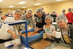 Volunteers at Feed My Starving Children Aurora, Ill. Site | Flickr - Photo Sharing!