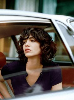 Curly bob hairstyles are framing faces with a sexy, tousled effect. Our favorite hair cuts are above the shoulders with layers that skim the jawline. Curly Hair Cuts, Short Curly Hair, Short Hair Cuts, Curly Hair Styles, Curly Bob Bangs, Hair Bangs, Asymmetrical Bob Haircuts, Choppy Bob Hairstyles, Hairstyles With Bangs