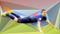 Van Persie's iconic goal. #VanPersieing #lowpoly