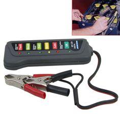 12 V Batería de Coche Tester Analizador Digital Probador de La Batería de Coche Batería de Coche Auto Alternador de Auto Herramienta de Diagnóstico