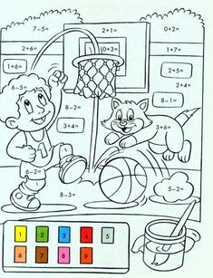 ❺ Наша начальная школа ❺ Mickey Coloring Pages, Easter Coloring Pages, Bible Coloring Pages, Coloring Pages For Kids, Kindergarten Worksheets, Preschool Activities, Math Sheets, Teacher Cards, Kids English