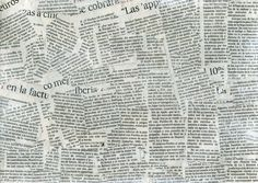 Newspaper collage texture - Free at @deviantART