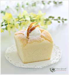 I've seen many bakers made this popular Hokkaido Chiffon Cupcakes around the blogospheres and on