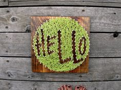 Hello String and Nail Art II  Typography  by stringandnail0