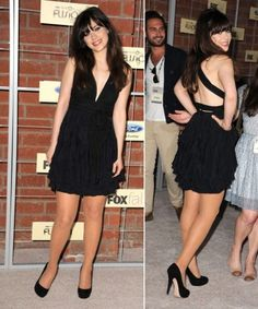 WWZDW - What Would Zoey Deschanel Wear - pages and pages of outfit inspiration.