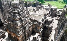 99 WOW: Is it Iram of the Pillars?هل هي إرم ذات العماد؟ Iram Of The Pillars, Hindu Temple, Hinduism, Archaeology, India, In This Moment, History, Temples, Caves