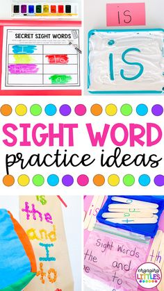 Fun Ways to Practice Sight Words - Engaging Littles