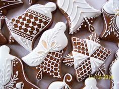 100_7042 Lace Cookies, Royal Icing Cookies, Gingerbread Cookies, Christmas Cookies, Sugar Cookies, Honey Cake, Diy Cake, Cakes And More, Biscotti