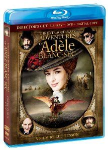 Amazon.com: The Extraordinary Adventures of Adele Blanc-Sec [Director's Cut] (BluRay/DVD/Digital Copy) [Blu-ray]: Louise Bourgoin, Mathieu Amalric, Luc Besson: Movies & TV