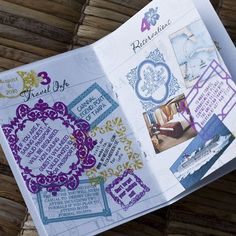Deposit  Passport Invitation or Save the Date by sproulliedesigns, $50.00