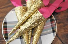 A Daily Something | DIY | sparkly party hats