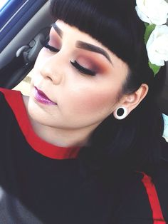 Makeup of the day: Lady Bird by mugslapper. Browse our real-girl gallery #TheBeautyBoard on Sephora.com  upload your own look for the chance to be featured here! #Sephora #MOTD