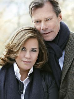 Henri, Grand Duke of Luxembourg and Maria Teresa, Grand Duchess of Luxembourg Casa Real, Duke And Duchess, Duchess Of Cambridge, Philippe Junot, Happy Birthday Prince, Grand Duc, Maria Teresa, Ernst August, Royal Monarchy