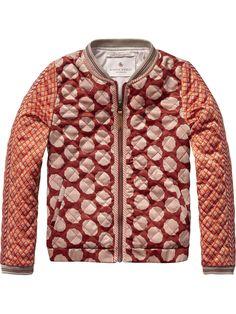 Seidige Jacke | Übergangsjacken | Mädchenbekleidung von Scotch & Soda