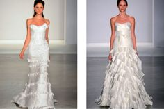 contemporary wedding gowns