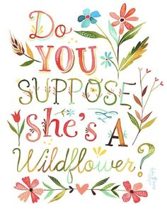Summery, Illustrated Typographic Prints Of Inspiring Quotes & Cheerful Phrases