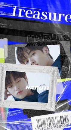 Blue Wallpapers, Treasure Boxes, Graphic Design Posters, Yg Entertainment, Cute Boys, Collage Art, Boy Groups, Fandom, Kpop