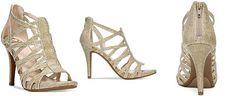 Fergalicious Hattie Caged Evening Sandals