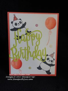 Count Down Sale-a-bration with Party Pandas | Stamp, Scrap & Create with Me
