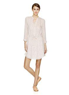 BENNETT DRESS ~ feminine shirtdress.