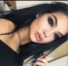 Imagem de girl, makeup, and beauty