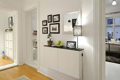 Apartement White Apartment Interior Eas In Sweden Wall Decoration Apartments Images White Apartment Decorating Ideas Apartment Decoration Ideas Wall Apartment Walls, White Apartment, Apartment Interior, Room Interior, Interior Design, Interior Ideas, Scandinavian Apartment, Scandinavian Style, Apartment Therapy