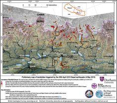 Gorkha earthquake in Nepal: a landslide map and update on the landslide hazard