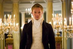 Rupert Penry Jones as Capt Wentworth in Persuasion. Image for my blond, blue-eyed hero, Max.