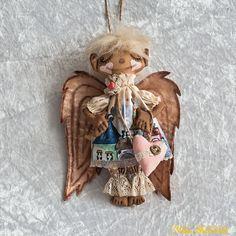 Interior decor textile angel